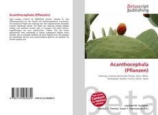 Portada del libro de Acanthocephala (Pflanzen)