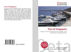 Bookcover of Port of Singapore