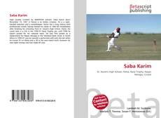 Portada del libro de Saba Karim