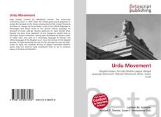 Urdu Movement kitap kapağı