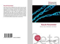 Racah Parameter kitap kapağı