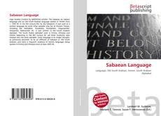 Bookcover of Sabaean Language