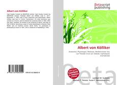 Bookcover of Albert von Kölliker