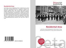 Bookcover of Residential Area