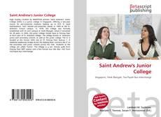 Saint Andrew's Junior College的封面