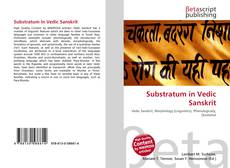 Buchcover von Substratum in Vedic Sanskrit