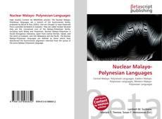 Buchcover von Nuclear Malayo- Polynesian Languages