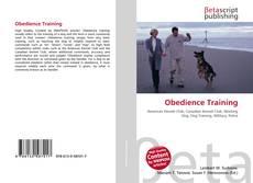 Capa do livro de Obedience Training