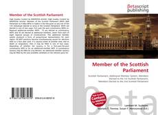 Bookcover of Member of the Scottish Parliament