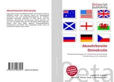 Abwehrbereite Demokratie kitap kapağı