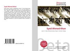 Bookcover of Syed Ahmed Khan