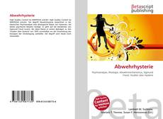 Bookcover of Abwehrhysterie