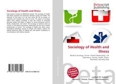 Bookcover of Sociology of Health and Illness