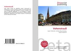 Bookcover of Vohenstrauß