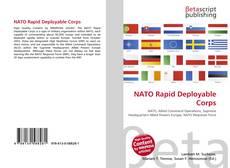 Обложка NATO Rapid Deployable Corps
