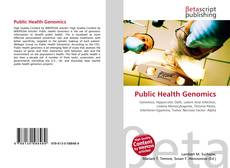Bookcover of Public Health Genomics