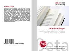 Bookcover of Rudolfo Anaya