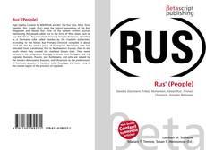 Couverture de Rus' (People)