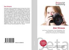 Bookcover of Zoe Strauss