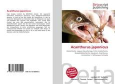 Capa do livro de Acanthurus japonicus