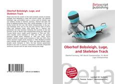 Buchcover von Oberhof Bobsleigh, Luge, and Skeleton Track