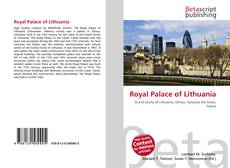 Bookcover of Royal Palace of Lithuania