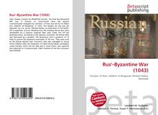Bookcover of Rus'–Byzantine War (1043)