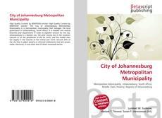 Couverture de City of Johannesburg Metropolitan Municipality