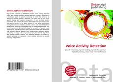 Bookcover of Voice Activity Detection