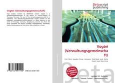 Bookcover of Vogtei (Verwaltungsgemeinschaft)
