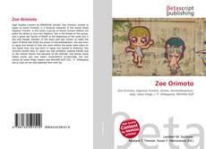 Buchcover von Zoe Orimoto