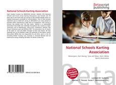 Capa do livro de National Schools Karting Association