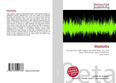 Buchcover von Mattafix