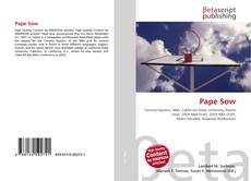 Bookcover of Pape Sow