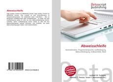 Bookcover of Abweisschleife