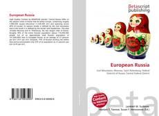 Buchcover von European Russia