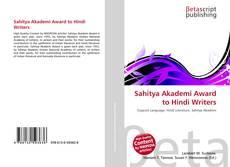 Borítókép a  Sahitya Akademi Award to Hindi Writers - hoz