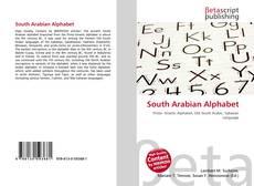 Bookcover of South Arabian Alphabet