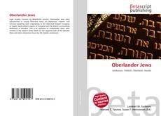 Bookcover of Oberlander Jews