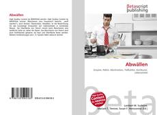 Bookcover of Abwällen