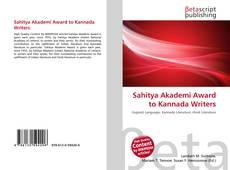 Borítókép a  Sahitya Akademi Award to Kannada Writers - hoz