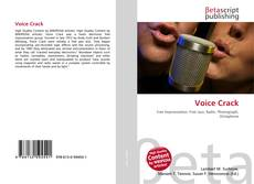 Bookcover of Voice Crack
