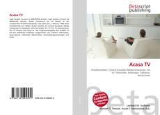 Bookcover of Acasa TV