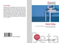 Bookcover of Voice Foley