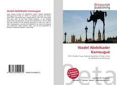 Couverture de Wadel Abdelkader Kamougué