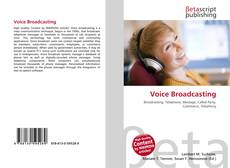 Bookcover of Voice Broadcasting