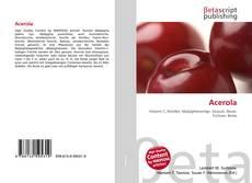 Capa do livro de Acerola