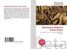 Bookcover of Udawalawe Elephant Transit Home