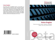 Bookcover of Voice Engine