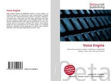 Buchcover von Voice Engine